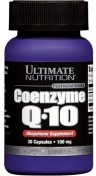 Ultimate Nutrition Coenzyme Q10 100 мг 30 капсул