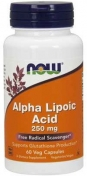 Now Alpha Lipoic Acid 250 мг 60 капсул