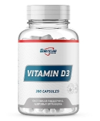 GeneticLab Nutrition Vitamin D3 360 капсул