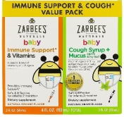 Zarbee's Naturals Baby Immune Support & Cough Syrup + Mucus Value Pack 2х59 мл