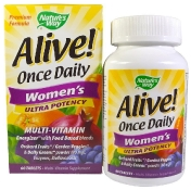 Nature's Way Alive! Once Daily Women's 60 таблеток