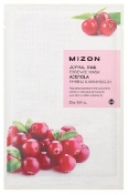 Mizon Joyful Time Essence Mask Acerola 23 г Тканевая маска для лица с экстрактом барбадосской вишни