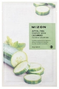 Mizon Joyful Time Essence Mask Cucumber 23 г Тканевая маска для лица с экстрактом огурца