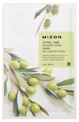 Mizon Joyful Time Essence Mask Olive 23 г Тканевая маска для лица с экстрактом оливы