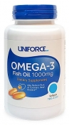 Uniforce Omega 3 Fish Oil 1000 мг 120 гелевых капсул