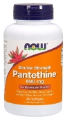 Now Pantetin (B-5) Double Strength 600 мг 60 капсул