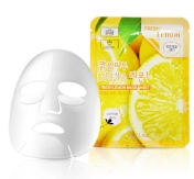 3W Clinic Fresh Lemon Mask Sheet 23 мл Тканевая маска для лица с экстрактом лимона