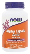 Now Alpha Lipoic Acid 100 мг 120 капсул