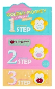 Holika Holika Golden Monkey Glamour Lip 3-Step Kit 2г+2,5г+1г
