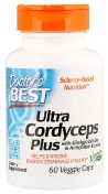 Doctor's Best Ultra Cordyceps Plus Ультра кордицепс плюс, 60 капсул
