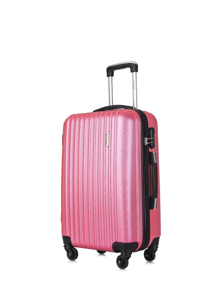 Чемодан L'Case Krabi M с расширением 63х40х25+5см (22) со съемными колесами. Розовый 3,16 кг. Цена, купить Чемодан L'Case Krabi M с расширением 63х40х25+5см (22) со съемными колесами. Розовый 3,16 кг в Москве и России с доставкой. Чемодан L'Case Krabi M с расширением 63х40х25+5см (22) со съемными колесами. Розовый 3,16 кг: обзор, отзывы, описание, продажа.