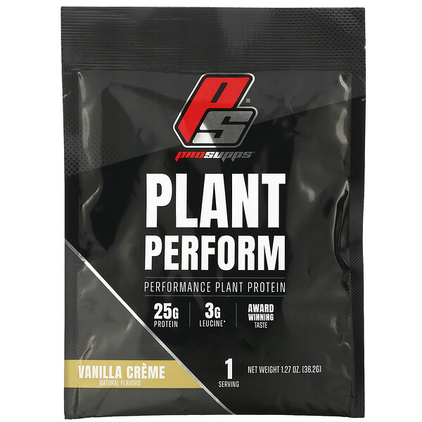 ProSupps Plant Perform Performance Plant Protein Vanilla Creme 1 packet 1.27 oz