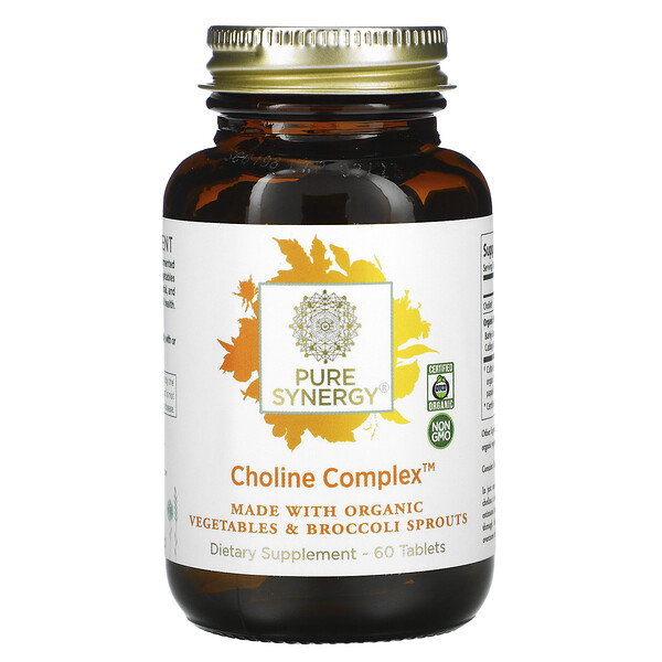 Pure Synergy Choline Complex 60 Tablets