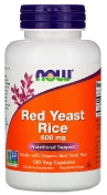Now Red Yeast Rice 600 мг 120 капсул