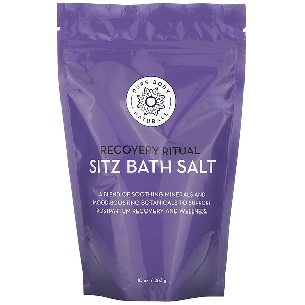 Pure Body Naturals Recovery Ritual Sitz Bath Salt 10 oz (283 g)
