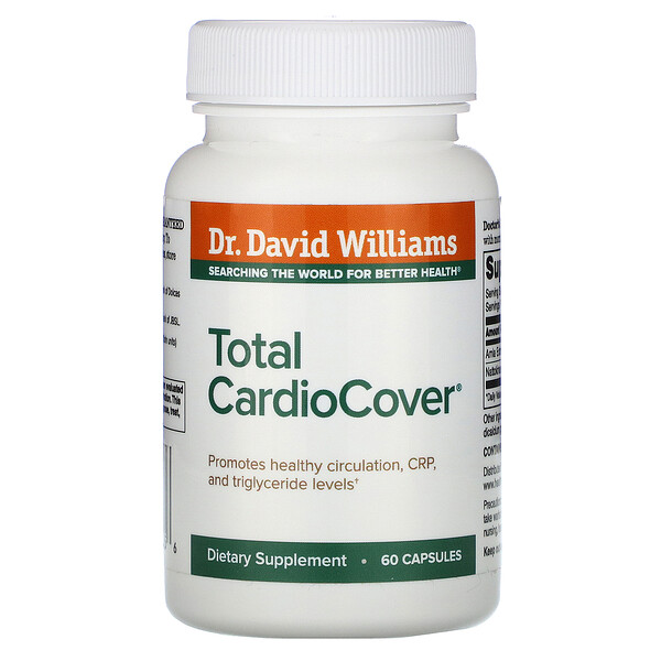 Dr. Williams Total CardioCover 60 Capsules