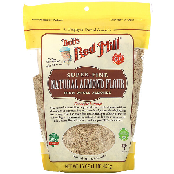 Bob's Red Mill Natural Almond Flour Super Fine 16 oz (453 g)